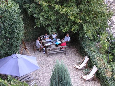 AV filosofie in de tuin